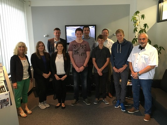 New apprentices start their professional career at SLF Oberflächentechnik