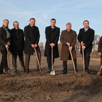 Ceremonia de inicio de obras para la nueva sede principal en Emsdetten