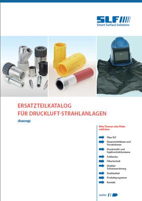 Ersatzteilkatalog Ersatzteile für Strahlanlagen