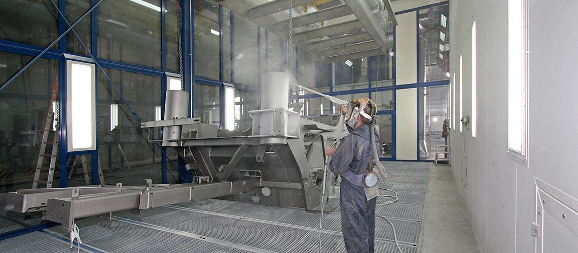 Pulverbechichtungsanlagen