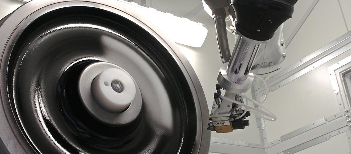 Automatische Lackieranlagen