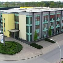 """Создание филиала в западной Германии, въезд в часть фирменного здания """"AGTOS"""" в г. Эмсдеттен"""